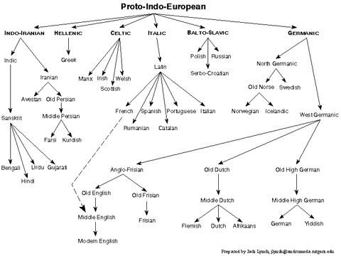 Language-Chart