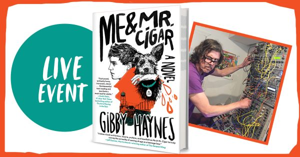 Gibby Haynes on Book Tour 2020